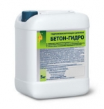 Гидрофобизирующая добавка БЕТОН-ГИДРО